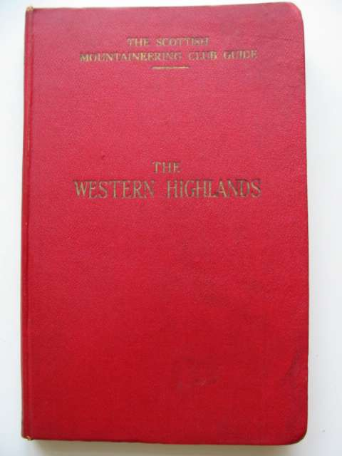 Photo of THE WESTERN HIGHLANDS written by Parker, James A. published by The Scottish Mountaineering Club (STOCK CODE: 630699)  for sale by Stella & Rose's Books