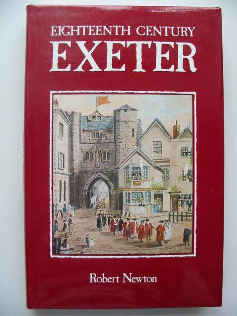 Photo of EIGHTEENTH CENTURY EXETER written by Newton, Robert published by University Of Exeter (STOCK CODE: 631054)  for sale by Stella & Rose's Books