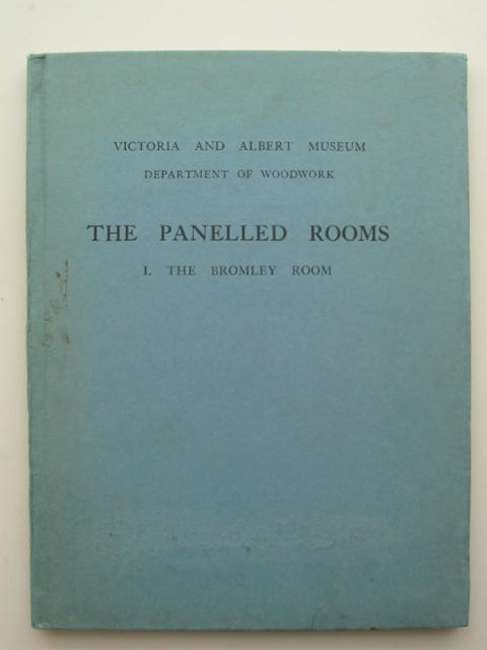 Photo of THE PANELLED ROOMS 1 THE BROMLEY ROOM published by HMSO (STOCK CODE: 631085)  for sale by Stella & Rose's Books