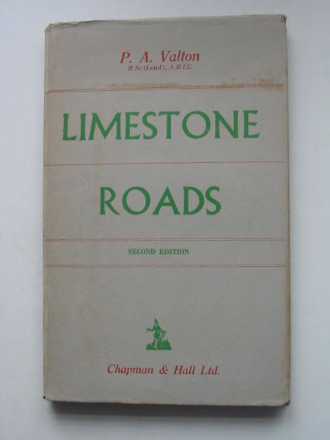 Photo of LIMESTONE ROADS written by Valton, P.A. published by Chapman & Hall Ltd (STOCK CODE: 631494)  for sale by Stella & Rose's Books