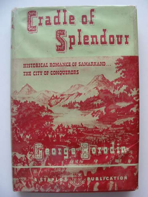 Photo of CRADLE OF SPLENDOUR written by Borodin, George published by Staples Press (STOCK CODE: 656779)  for sale by Stella & Rose's Books