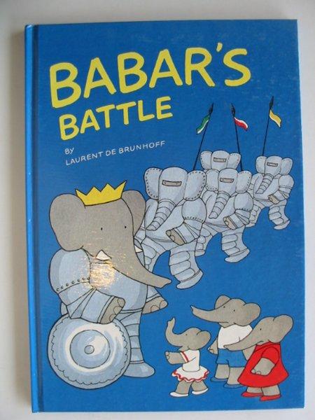 Photo of BABAR'S BATTLE written by De Brunhoff, Laurent illustrated by De Brunhoff, Laurent published by Methuen Children's Books Ltd. (STOCK CODE: 656870)  for sale by Stella & Rose's Books