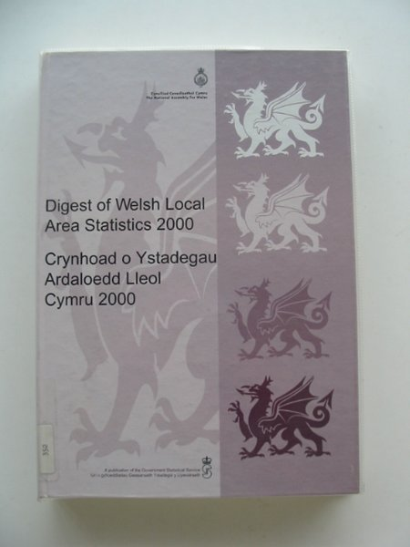 Photo of DIGEST OF WELSH LOCAL AREA STATISTICS 2000 published by The National Assembly Of Wales (STOCK CODE: 656897)  for sale by Stella & Rose's Books