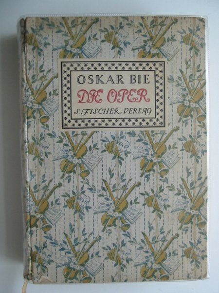 Photo of DIE OPER written by Bie, Oskar published by S. Fischer (STOCK CODE: 660374)  for sale by Stella & Rose's Books