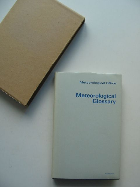 Photo of METEOROLOGICAL GLOSSARY written by McIntosh, D.H. published by HMSO (STOCK CODE: 661157)  for sale by Stella & Rose's Books