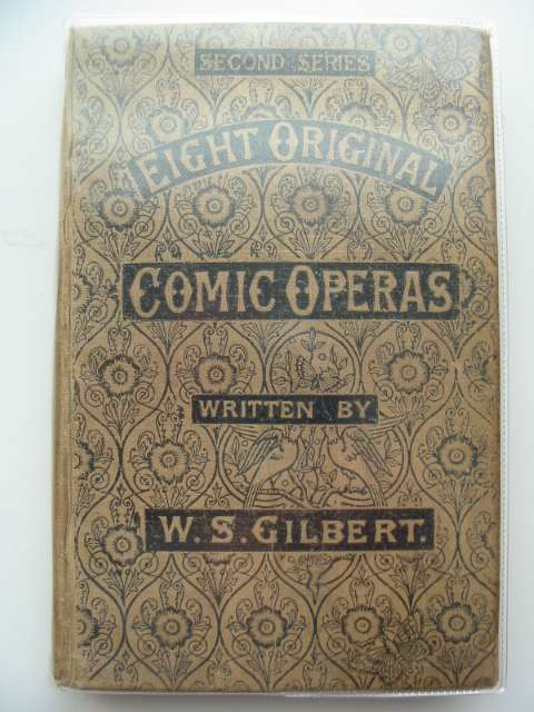 Photo of ORIGINAL COMIC OPERAS written by Gilbert, W.S. published by Chappell And Company (STOCK CODE: 661632)  for sale by Stella & Rose's Books
