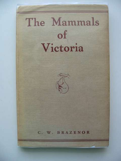Photo of THE MAMMALS OF VICTORIA written by Brazenor, C.W. published by Brown, Prior, Anderson (STOCK CODE: 663337)  for sale by Stella & Rose's Books