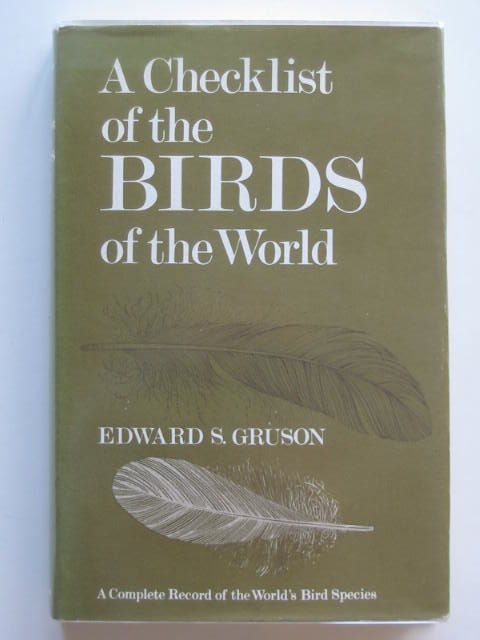 Photo of CHECKLIST OF THE BIRDS OF THE WORLD. written by Gruson, Edward S. published by Collins (STOCK CODE: 663700)  for sale by Stella & Rose's Books