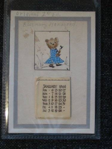 Photo of CALENDAR FOR 1946 illustrated by Hammond, Rosemary (STOCK CODE: 664975)  for sale by Stella & Rose's Books