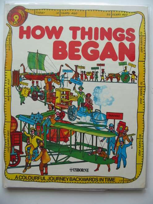 Photo of HOW THINGS BEGAN written by McNeil, Mary Jean illustrated by King, Colin published by Usborne (STOCK CODE: 669345)  for sale by Stella & Rose's Books