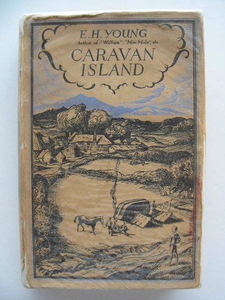 Photo of CARAVAN ISLAND written by Young, E.H. illustrated by Haley, H.J. published by Adam & Charles Black (STOCK CODE: 671717)  for sale by Stella & Rose's Books