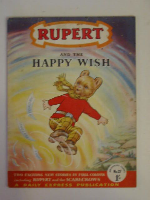 Photo of RUPERT ADVENTURE SERIES No. 27 - RUPERT AND THE HAPPY WISH written by Bestall, Alfred published by Daily Express (STOCK CODE: 671841)  for sale by Stella & Rose's Books