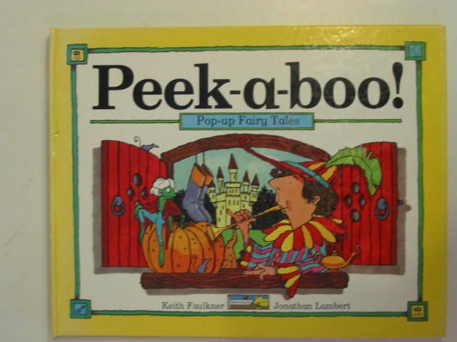 Photo of PEEK-A-BOO POP-UP FAIRY TALES written by Faulkner, Keith illustrated by Lambert, Jonathan published by Chad Valley Books (STOCK CODE: 674194)  for sale by Stella & Rose's Books