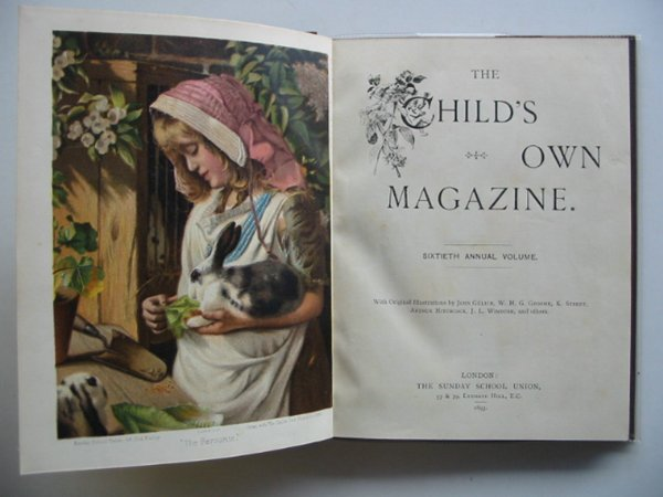 Photo of THE CHILD'S OWN MAGAZINE published by The Sunday School Union (STOCK CODE: 674272)  for sale by Stella & Rose's Books