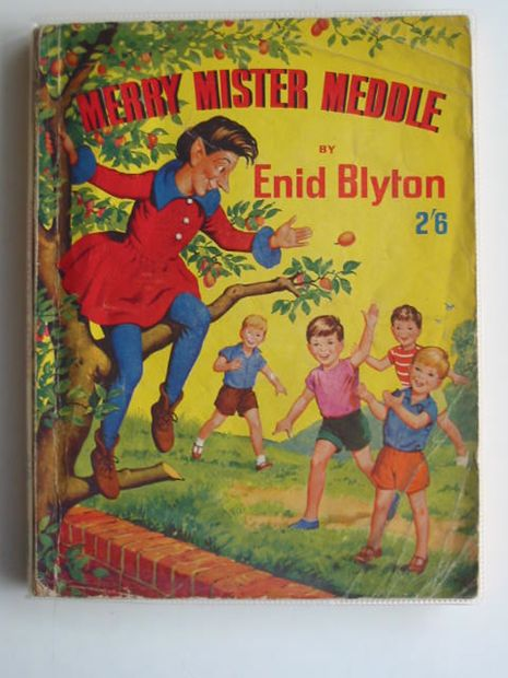 Photo of MERRY MISTER MEDDLE written by Blyton, Enid illustrated by Turvey, Rosalind M.<br />Mercer, Joyce published by George Newnes Ltd. (STOCK CODE: 674487)  for sale by Stella & Rose's Books