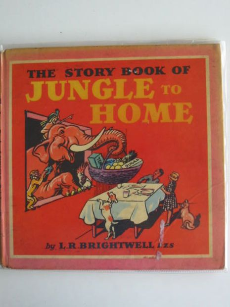Photo of THE STORY BOOK OF JUNGLE TO HOME written by Brightwell, L.R. illustrated by Brightwell, L.R. published by Wells Gardner, Darton & Co. Ltd. (STOCK CODE: 674493)  for sale by Stella & Rose's Books