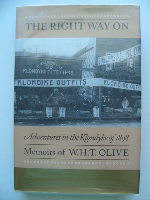 Photo of THE RIGHT WAY ON written by Olive, W.H.T. published by Timberholme Books (STOCK CODE: 674687)  for sale by Stella & Rose's Books
