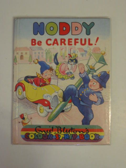 Photo of NODDY BE CAREFUL! written by Blyton, Enid illustrated by Beek,  published by Sampson Low, Marston & Co. Ltd., Dennis Dobson (STOCK CODE: 674765)  for sale by Stella & Rose's Books