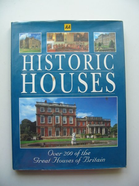 Photo of HISTORIC HOUSES written by Hicks, Penny published by AA (STOCK CODE: 677833)  for sale by Stella & Rose's Books