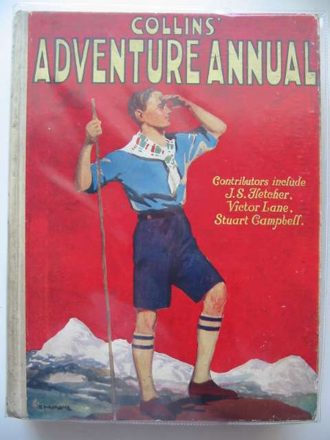 Photo of COLLINS' ADVENTURE ANNUAL written by Fletcher, J.S.<br />Horler, Sydney<br />et al,  published by Collins Clear-Type Press (STOCK CODE: 679362)  for sale by Stella & Rose's Books