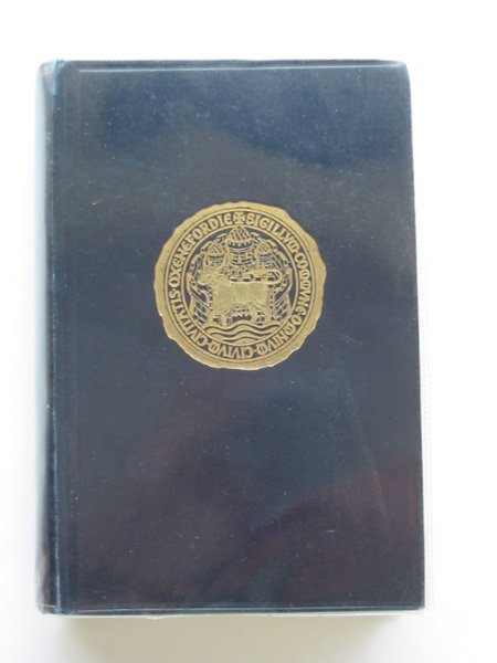 Photo of OXFORD COUNCIL ACTS 1666-1701 written by Hobson, M.G. published by Oxford University Press (STOCK CODE: 682409)  for sale by Stella & Rose's Books