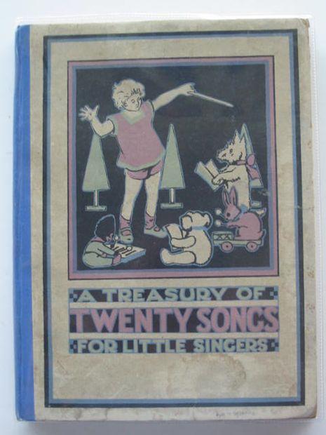 Photo of A TREASURY OF TWENTY SONGS FOR LITTLE SINGERS written by Wilson, Marjorie<br />Hayes, Nancy M.<br />Chaplin, Alethea<br />Scott-Hopper, Queenie published by George G. Harrap & Co. Ltd. (STOCK CODE: 685221)  for sale by Stella & Rose's Books