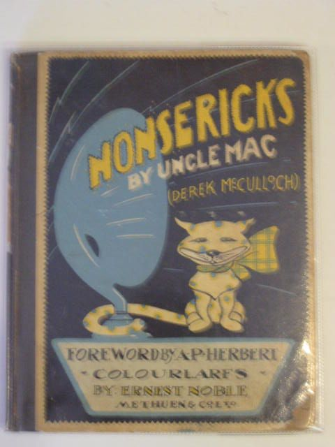 Photo of NONSERICKS BY UNCLE MAC written by McCulloch, Derek illustrated by Noble, Ernest published by Methuen & Co. Ltd. (STOCK CODE: 690399)  for sale by Stella & Rose's Books