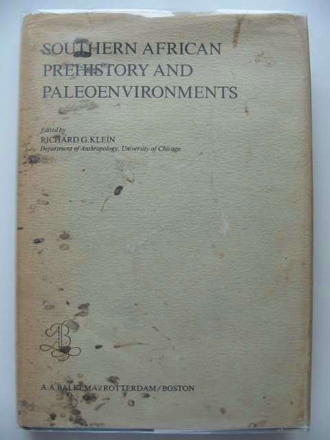 Photo of SOUTHERN AFRICAN PREHISTORY AND PALEOENVIRONMENTS written by Klein, Richard G. published by A.A. Balkema (STOCK CODE: 692586)  for sale by Stella & Rose's Books