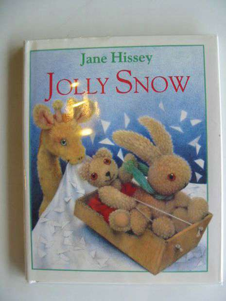 Photo of JOLLY SNOW written by Hissey, Jane illustrated by Hissey, Jane published by Hutchinson (STOCK CODE: 692610)  for sale by Stella & Rose's Books