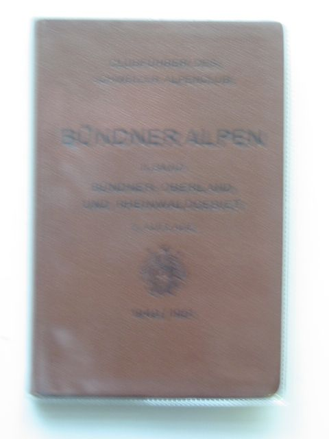 Photo of BUNDNER ALPEN II BAND written by Derichsweiler, W.<br />Imhof, Ed. published by Schweizer Alpenclub (STOCK CODE: 692739)  for sale by Stella & Rose's Books