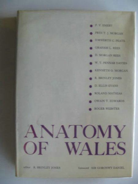 Photo of ANATOMY OF WALES written by Jones, R. Brinley<br />Emery, F.V.<br />Morgan, Prys<br />et al,  published by Gwerin Publications (STOCK CODE: 694536)  for sale by Stella & Rose's Books
