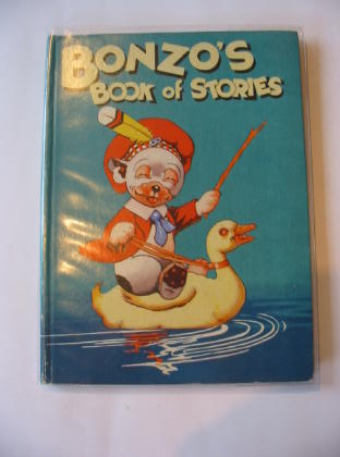Photo of BONZO'S BOOK OF STORIES written by Studdy, G.E.<br />Haughton, W.H.<br />Woodhouse, Pat illustrated by Studdy, G.E. published by Dean & Son Ltd. (STOCK CODE: 703317)  for sale by Stella & Rose's Books