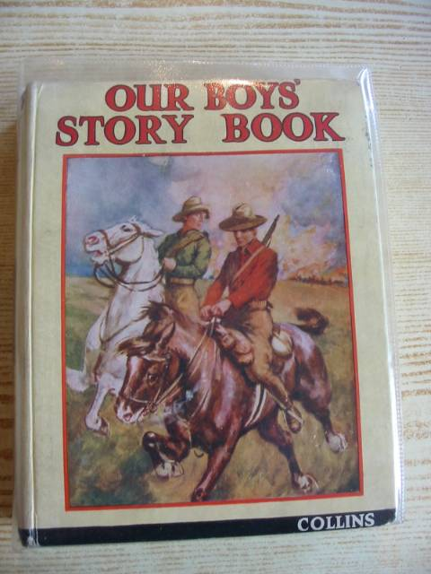 Photo of OUR BOYS' STORY BOOK written by Avery, Harold<br />Judd, Alfred<br />Hayens, Herbert<br />et al,  published by Collins Clear-Type Press (STOCK CODE: 706477)  for sale by Stella & Rose's Books