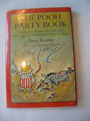 Photo of THE POOH PARTY BOOK written by Milne, A.A.<br />Kumm, Patsy illustrated by Shepard, E.H. published by Methuen Children's Books Ltd. (STOCK CODE: 710867)  for sale by Stella & Rose's Books