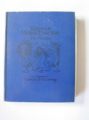 Photo of THROUGH MERRIE ENGLAND written by Stevens, F.L. illustrated by Bedford, Francis D. published by Frederick Warne & Co. (STOCK CODE: 712119)  for sale by Stella & Rose's Books