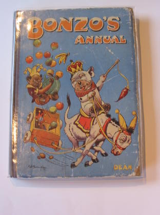 Photo of BONZO'S ANNUAL 1948 written by Studdy, G.E. illustrated by Studdy, G.E. published by Dean & Son Ltd. (STOCK CODE: 712401)  for sale by Stella & Rose's Books
