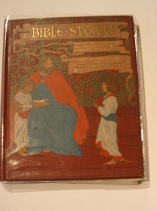 Photo of BIBLE STORIES written by Weedon, L.L. illustrated by Dudley, Ambrose published by Ernest Nister (STOCK CODE: 716235)  for sale by Stella & Rose's Books
