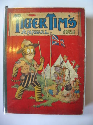 Photo of TIGER TIM'S ANNUAL 1931 illustrated by Foxwell, Herbert<br />et al.,  published by The Amalgamated Press (STOCK CODE: 719343)  for sale by Stella & Rose's Books