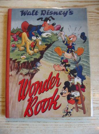 Photo of WALT DISNEY'S WONDER BOOK written by Disney, Walt illustrated by Disney, Walt published by The Sunshine Press (STOCK CODE: 719557)  for sale by Stella & Rose's Books
