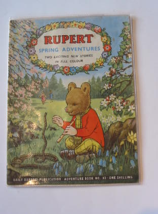 Photo of RUPERT ADVENTURE BOOK No. 32 - SPRING ADVENTURES written by Bestall, Alfred published by Daily Express (STOCK CODE: 721370)  for sale by Stella & Rose's Books