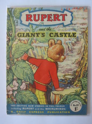 Photo of RUPERT ADVENTURE SERIES No. 29 - RUPERT AND THE GIANT'S CASTLE written by Bestall, Alfred published by Daily Express (STOCK CODE: 721372)  for sale by Stella & Rose's Books