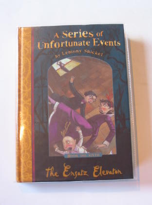 Photo of A SERIES OF UNFORTUNATE EVENTS: THE ERSATZ ELEVATOR written by Snicket, Lemony illustrated by Helquist, Brett published by Egmont Books Ltd. (STOCK CODE: 722558)  for sale by Stella & Rose's Books
