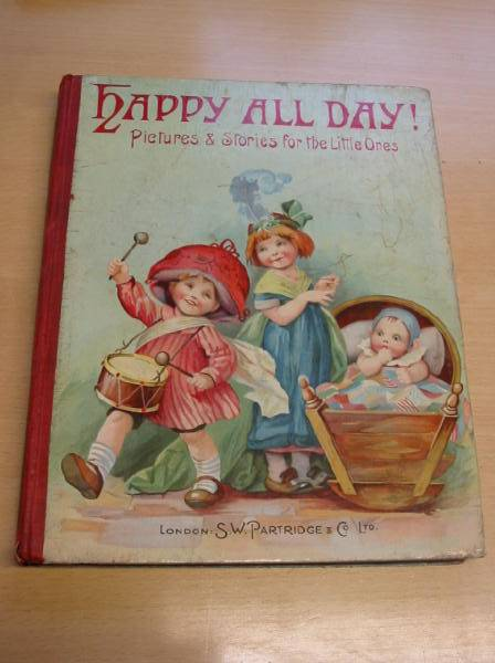 Photo of HAPPY ALL DAY! written by Girvin, Brenda<br />Bullen, Josephine<br />et al,  illustrated by Wain, Louis<br />Neilson, Harry<br />Lambert, H.G.C. Marsh<br />et al.,  published by S.W. Partridge & Co. Ltd. (STOCK CODE: 728251)  for sale by Stella & Rose's Books