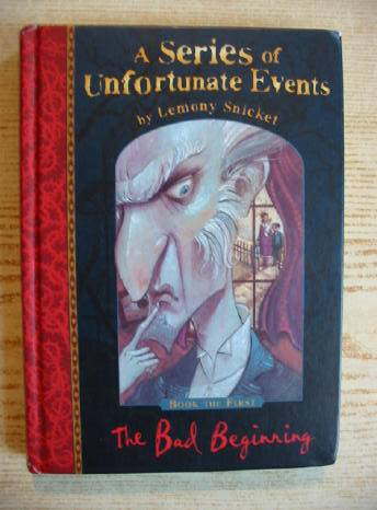 Photo of A SERIES OF UNFORTUNATE EVENTS: THE BAD BEGINNING written by Snicket, Lemony illustrated by Helquist, Brett published by Egmont Children's Books Ltd. (STOCK CODE: 730154)  for sale by Stella & Rose's Books