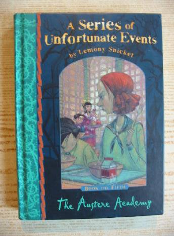 Photo of A SERIES OF UNFORTUNATE EVENTS: THE AUSTERE ACADEMY written by Snicket, Lemony illustrated by Helquist, Brett published by Egmont Books Ltd. (STOCK CODE: 730155)  for sale by Stella & Rose's Books