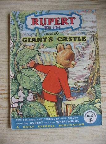 Photo of RUPERT ADVENTURE SERIES No. 29 - RUPERT AND THE GIANT'S CASTLE written by Bestall, Alfred published by Daily Express (STOCK CODE: 731231)  for sale by Stella & Rose's Books