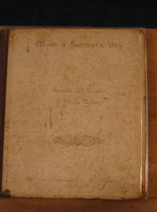 Photo of ALL ON A SUMMER'S DAY written by Sunter, J. Pauline illustrated by Sunter, J. Pauline published by Eyre & Spottiswoode (STOCK CODE: 731848)  for sale by Stella & Rose's Books