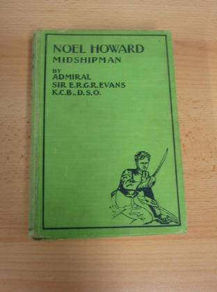 Photo of NOEL HOWARD MIDSHIPMAN written by Evans, E.R.G.R. illustrated by Cuneo,  published by Frederick Warne & Co Ltd. (STOCK CODE: 733539)  for sale by Stella & Rose's Books
