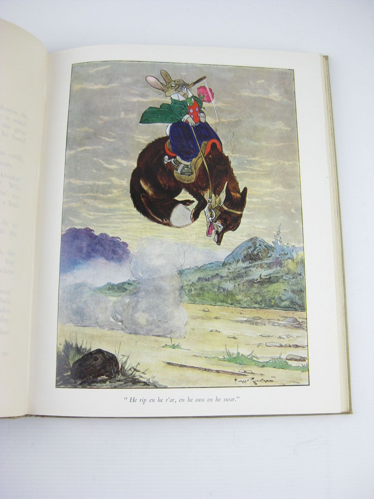Photo of UNCLE REMUS OR THE STORY OF MR. FOX AND BRER RABBIT written by Harris, Joel Chandler illustrated by Rountree, Harry<br />Bull, Rene published by Raithby, Lawrence & Co. Limited (STOCK CODE: 737200)  for sale by Stella & Rose's Books