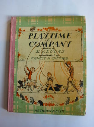 Photo of PLAYTIME & COMPANY written by Lucas, E.V. illustrated by Shepard, E.H. published by Methuen & Co. Ltd. (STOCK CODE: 738506)  for sale by Stella & Rose's Books